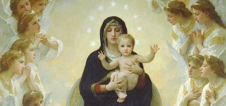 Resultado de imagem para Jesus Cristo E SUA Mae Maria Virgem ...