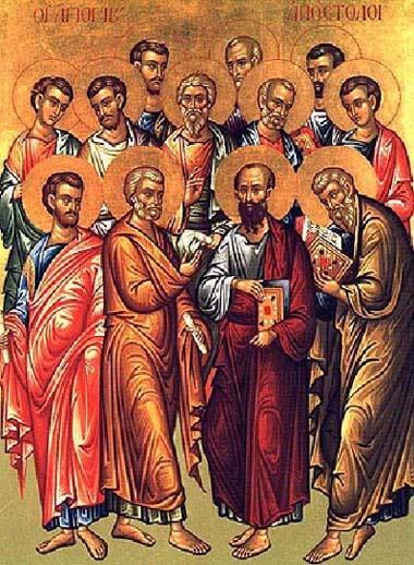 Resultado de imagem para ícone os discipulos do Senhor