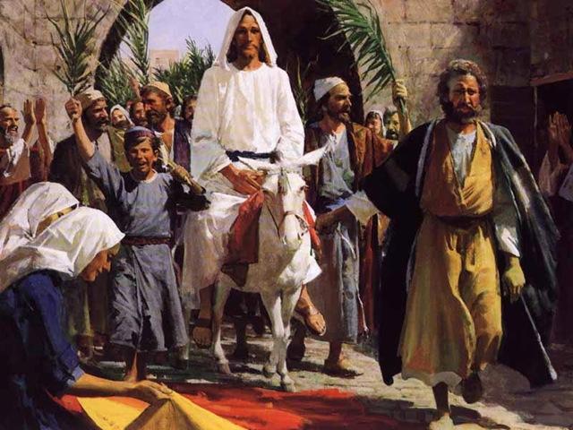 jesus-enters-jerusalem-for-passover