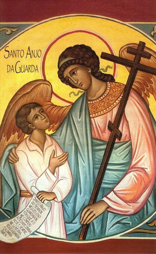 A teu respeito ordenou a seus anjos que te guardem em todos os teus caminhos (Sl 90,11).